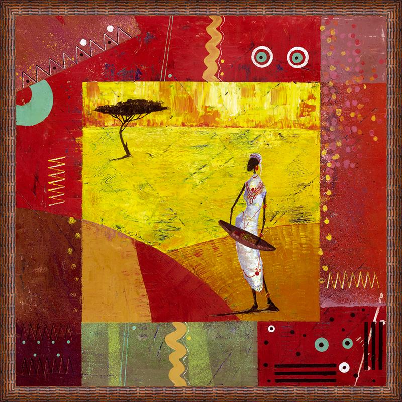 Картина Postermarket Африка I, 50 х 50 смMC-50Картина Postermarket Африка I прекрасно подойдет для декора интерьера различных помещений. Постер, выполненный в технике фотопечать, оформлен багетом коричневого цвета. Картина для интерьера (постер) - это современное и актуальное направление в дизайне помещений. Ее можно использовать для оформления любых помещений (дом, квартира, офис, бар, кафе, ресторан или гостиница). работоспособность. Правильное оформление интерьера создает благоприятный психологический климат, улучшает настроение и мотивирует.Размер картины: 500 x 500 мм.