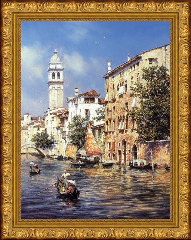 Картина Postermarket Солнечная Венеция, 30 х 40 смPM-4021Картина Postermarket Солнечная Венеция прекрасно подойдет для декора интерьера различных помещений. Постер, выполненный в технике фотопечать, оформлен багетом золотистого цвета. Картина для интерьера (постер) - это современное и актуальное направление в дизайне помещений. Ее можно использовать для оформления любых помещений (дом, квартира, офис, бар, кафе, ресторан или гостиница). работоспособность. Правильное оформление интерьера создает благоприятный психологический климат, улучшает настроение и мотивирует.Размер картины: 300 x 400 мм.