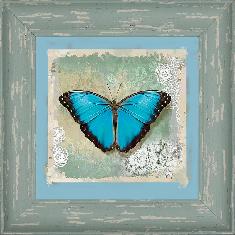 Картина Postermarket Бабочка Голубой Морфо, 20 х 20 см. WA-14WA-14Картина Postermarket Бабочка Голубой Морфо - это высококачественная современная репродукция на плотной бумаге, одетая в изысканный багет.Интерьер дома и офиса, в котором находится человек, в значительной степени влияет на его настроение и работоспособность. Правильное оформление интерьера создает благоприятный психологический климат, улучшает настроение и мотивирует. Добавьте «красок» в ваш интерьер и, возможно, в вашу жизнь.