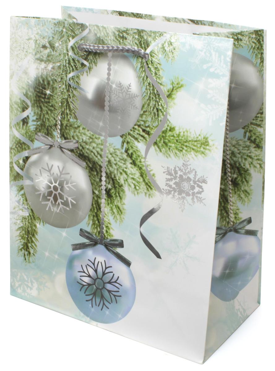 Пакет подарочный МегаМАГ Premium. Новый год, 18 х 22,7 х 10 см. 2064 MPAM400395Подарочный пакет МегаМАГ, изготовленный из плотной ламинированной бумаги, станет незаменимым дополнением к выбранному подарку. Для удобной переноски на пакете имеются две ручки-шнурки.Подарок, преподнесенный в оригинальной упаковке, всегда будет самым эффектным и запоминающимся. Окружите близких людей вниманием и заботой, вручив презент в нарядном, праздничном оформлении.