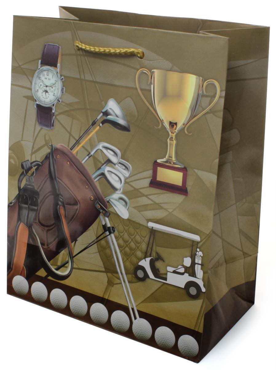 Пакет подарочный МегаМАГ Гольф, 18 х 22,7 х 10 см. 2128 M498137_2-Ф слоновая костьПодарочный пакет МегаМАГ, изготовленный из плотной ламинированной бумаги, станет незаменимым дополнением к выбранному подарку. Для удобной переноски на пакете имеются две ручки-шнурки.Подарок, преподнесенный в оригинальной упаковке, всегда будет самым эффектным и запоминающимся. Окружите близких людей вниманием и заботой, вручив презент в нарядном, праздничном оформлении.