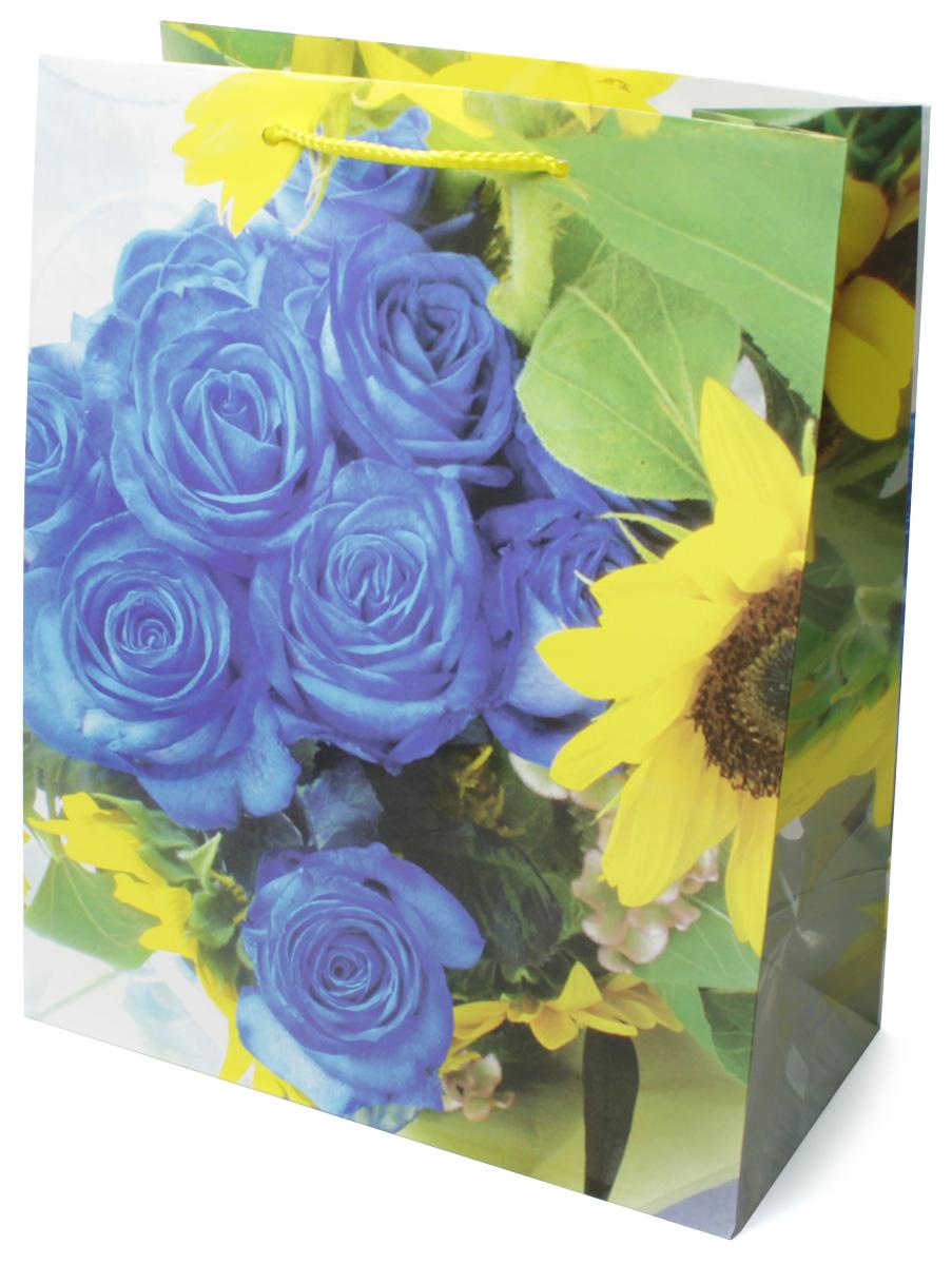 Пакет подарочный МегаМАГ Цветы, 26,4 х 32,7 х 13,6 см. 3063 LVR15.003Подарочный пакет МегаМАГ, изготовленный из плотной ламинированной бумаги, станет незаменимым дополнением к выбранному подарку. Для удобной переноски на пакете имеются две ручки-шнурки.Подарок, преподнесенный в оригинальной упаковке, всегда будет самым эффектным и запоминающимся. Окружите близких людей вниманием и заботой, вручив презент в нарядном, праздничном оформлении.
