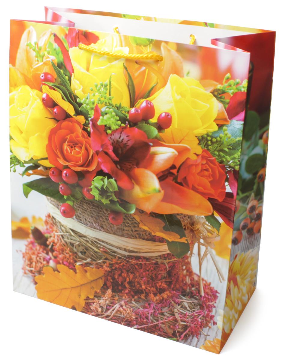 Пакет подарочный МегаМАГ Цветы, 26,4 х 32,7 х 13,6 см. 3124 LNLED-454-9W-BKПодарочный пакет МегаМАГ, изготовленный из плотной ламинированной бумаги, станет незаменимым дополнением к выбранному подарку. Для удобной переноски на пакете имеются две ручки-шнурки.Подарок, преподнесенный в оригинальной упаковке, всегда будет самым эффектным и запоминающимся. Окружите близких людей вниманием и заботой, вручив презент в нарядном, праздничном оформлении.