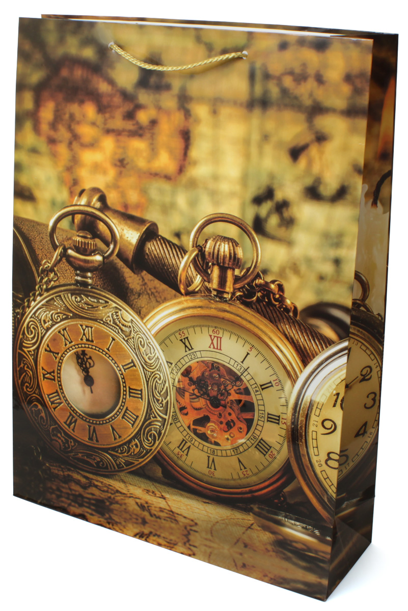 Пакет подарочный МегаМАГ Карта. Часы, 32,4 х 44,5 х 10,2 см. 5048 XL498137_1 белыйПодарочный пакет МегаМАГ, изготовленный из плотной ламинированной бумаги, станет незаменимым дополнением к выбранному подарку. Для удобной переноски на пакете имеются две ручки-шнурки.Подарок, преподнесенный в оригинальной упаковке, всегда будет самым эффектным и запоминающимся. Окружите близких людей вниманием и заботой, вручив презент в нарядном, праздничном оформлении.
