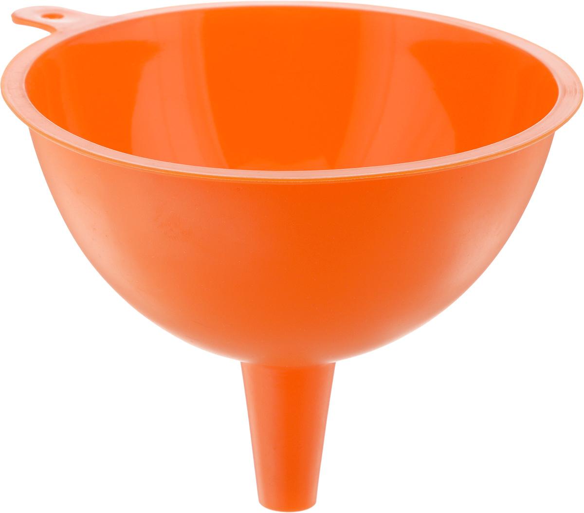 Воронка Mayer & Boch, цвет: оранжевый, диаметр 15 см54 009312Воронка Mayer & Boch изготовлена из силикона. Предназначена для переливания жидкостей в сосуд с узким горлышком. Воронка плотно прилегает к краям наполняемой емкости, поэтому вы ни капли не прольете мимо. Такая воронка станет прекрасным дополнением к коллекции ваших кухонных аксессуаров. Диаметр воронки: 15 см. Высота воронки: 12 см.