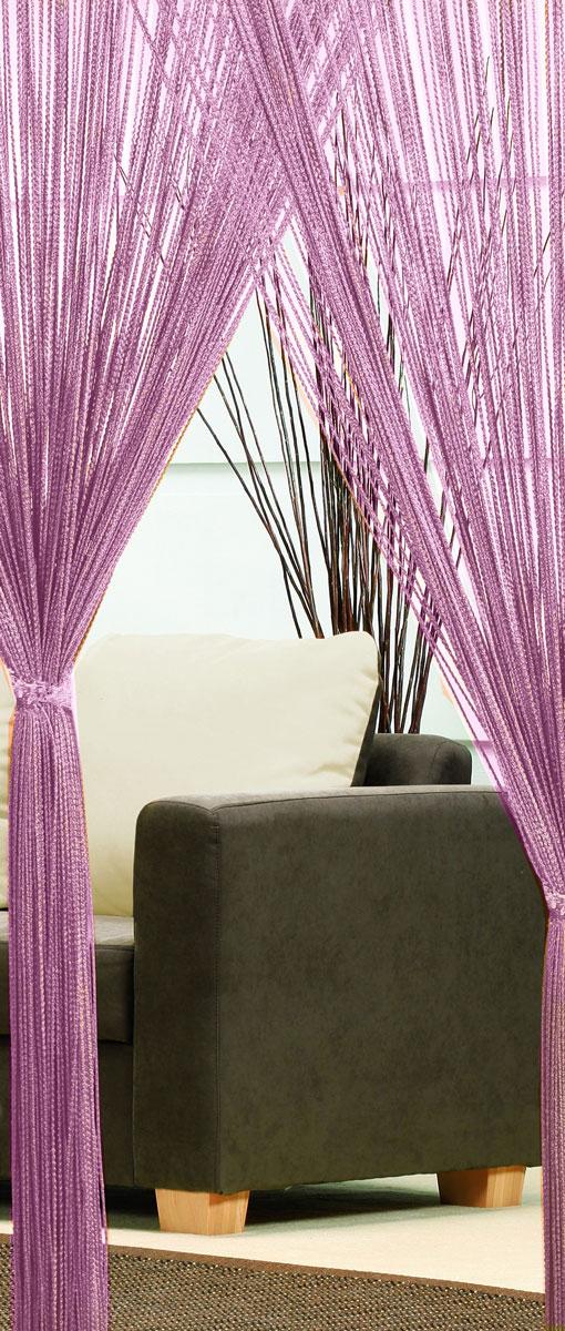 Гардина-лапша Haft, на кулиске, цвет: фиолетовый, высота 250 см. 4699054350/160Легкая гардина-лапша на кулиске Haft, изготовленная из полиэстера, станетвеликолепным украшением любого окна. Оригинальный дизайн и приятнаяцветовая гамма привлекут к себе внимание и органично впишутся в интерьеркомнаты.К изделию прилагается удобный мешок для стирки на стяжке.