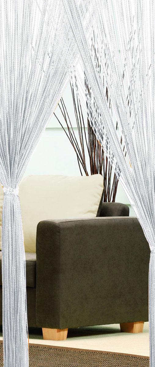 Гардина-лапша Haft, на кулиске, цвет: белый, высота 250 см. 46990UN111256660Легкая гардина-лапша на кулиске Haft, изготовленная из полиэстера, станетвеликолепным украшением любого окна. Оригинальный дизайн и приятнаяцветовая гамма привлекут к себе внимание и органично впишутся в интерьеркомнаты.К изделию прилагается удобный мешок для стирки на стяжке.
