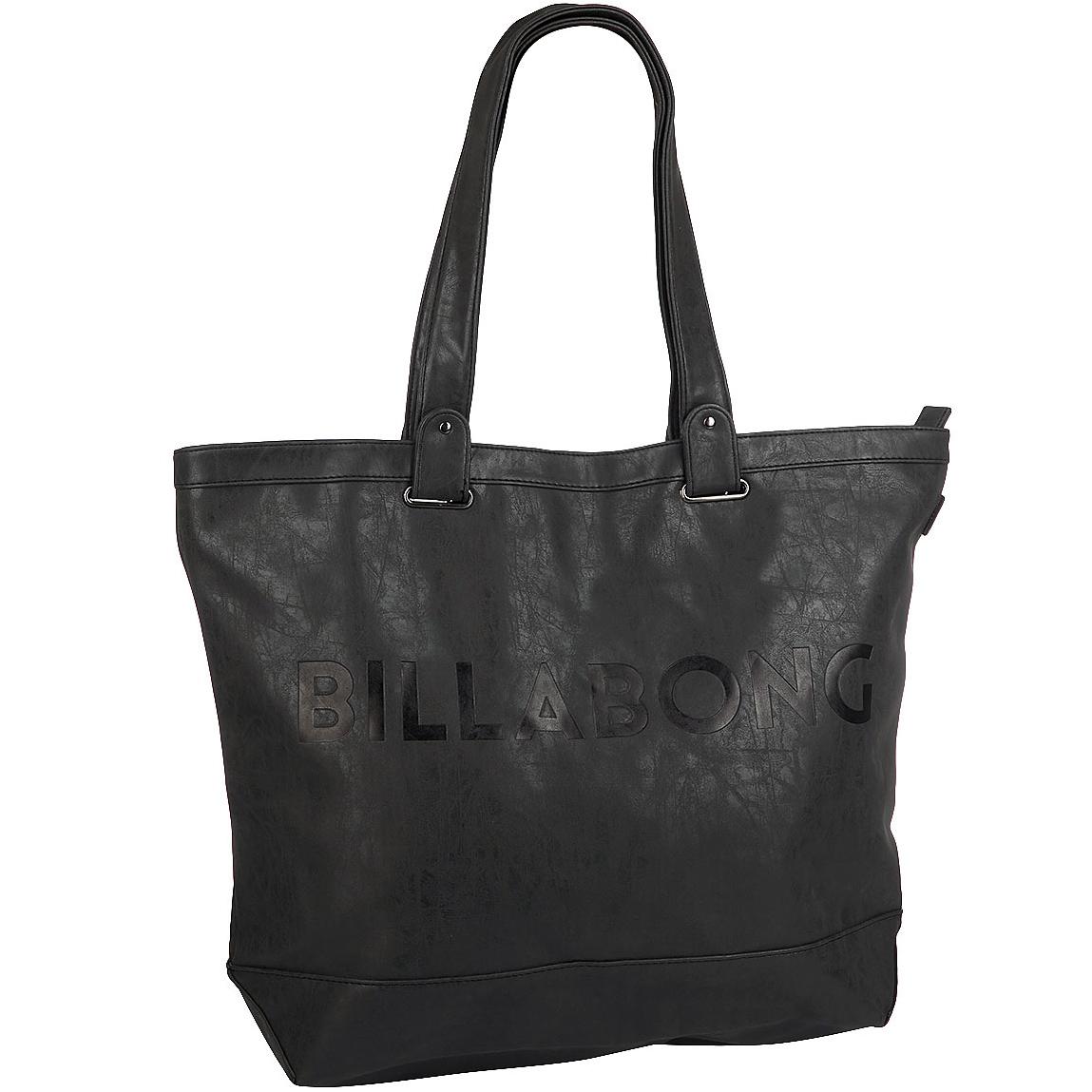 Сумка женская Billabong Essential Plus, цвет: черный, 25 л. Z9BG13MW-1462-01-SR серебристыйВместительная сумка с простой внутренней организацией. Лаконичный крой, дополненный внутренним карманом на молнии, который позволит быстро находить необходимые мелочи, позволит вместить множество вещей.