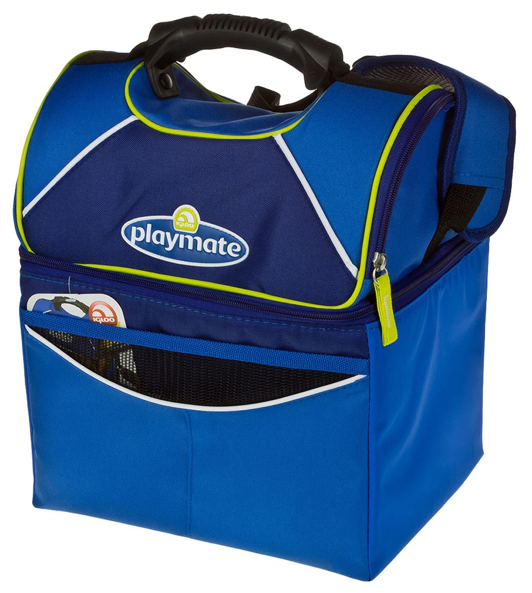 Сумка-термос Igloo PM GRIPPER 22, цвет: синийP2015Малая изотермическая сумка с регулируемым по длине плечевым ремнем на мягкой плечевой подложке, фронтальным карманом и карманом-сеткой на внутренней части крышки. Превосходно подойдет для индивидуального, ежедневного использования.Преимущества:- Она легкая и вместительная изотермическая сумка идеальна для семейного отдыха.- Прочная и практичная в уходе внешняя ткань.- Внутренний отражающий слой с антибактериальным покрытием абсолютно герметичен.- Надежная изоляция обеспечивает продолжительное сохранение температуры продуктов.- Внешний карман для мелких предметов.- Внутренний карман-сетка.- Регулируемый по длине ремень для переноски на плече c мягкой, противоскользящей подушкой.- Опция бокового доступа к карману-сетке в верхней части крышки.Длина: 29,2 см.Ширина: 24,1 см. Высота: 35,6 см.
