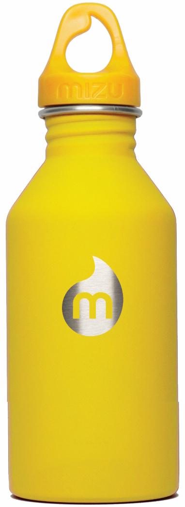 Бутылка для воды Mizu  M6 , цвет: желтый, 600 мл - Туристическая посуда
