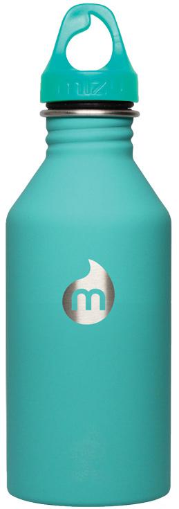 Бутылка для воды Mizu M6, цвет: ментоловый, 600 млSPIRIT ED 8420Бутылка из пищевой нержавеющей стали для тех, кто заботится об окружающей среде и своем здоровье. Объем: 600 мл. Обхват: 24 см. Диаметр: 7 см. Высота (с крышкой): 21,5 см.