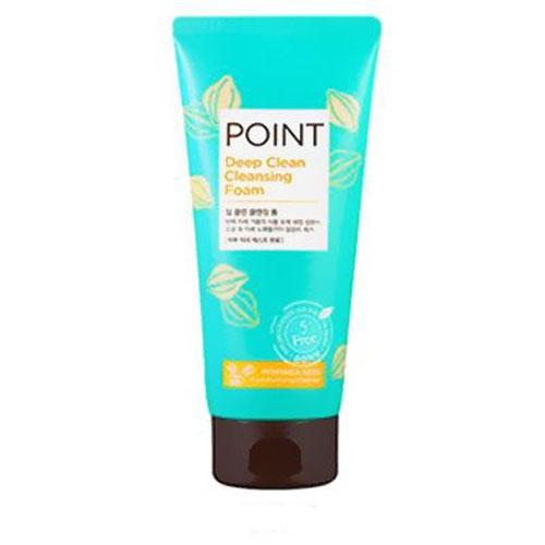 Point Пенка для умывания, для всех типов кожи, 175 г175169Пенка Point для умывания содержит органические очищающие компоненты - сапонины, которые создают обильную, мягкую пену, нежно и бережно очищают кожу, не вызывая раздражение. Эффективно удаляет загрязнения и макияж, не допуская их повторного впитывания. Антиоксидантные свойства экстрактов лотоса, юкки и др. защищают кожу от преждевременного старения. Кожа обретает свежий, безупречный, сияющий вид. Не содержит красители, спирты, бензофенон, тальк и другие вредные ингредиенты. Характеристики:Вес: 175 г. Артикул: 984000. Производитель: Корея. Товар сертифицирован.
