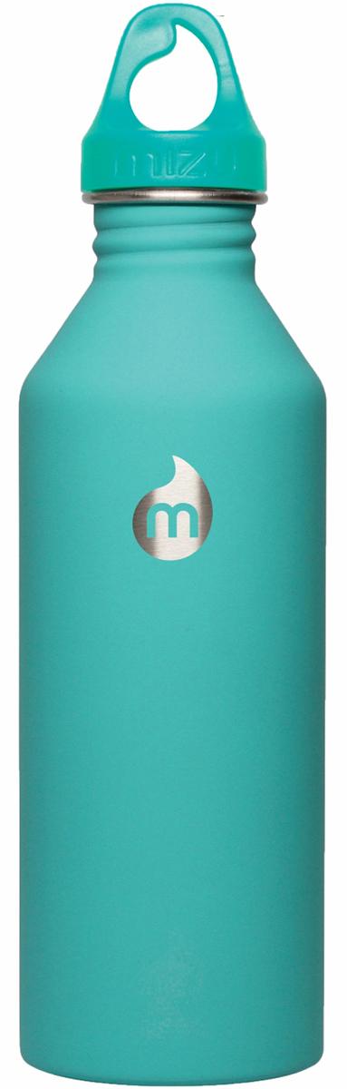 Бутылка для воды Mizu M8, цвет: ментоловый, 800 мл67742Бутылка из пищевой нержавеющей стали для тех, кто заботится об окружающей среде и своем здоровье. Объем: 800 мл. Обхват: 24 см. Диаметр: 7 см. Высота (с крышкой): 26 см.