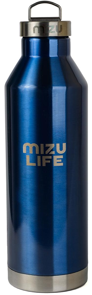 Термобутылка для жидкостей Mizu V8, цвет: голубой, 800 млAS009Бутылка-термос Mizu V8 с крышкой с кольцом, выполненная из пищевой нержавеющей стали, отлично подойдет для тех, кто заботится об окружающей среде и своем здоровье. Ее удобно брать с собой в путешествия, походы и на рыбалку.Бутылка сохраняет горячее до 12 часов и холодное до 18 часов. Не содержит вредного BPA .Объем: 800 мл.Диаметр: 7,5 см. Обхват: 24 см. Высота (с крышкой): 26,5 см.