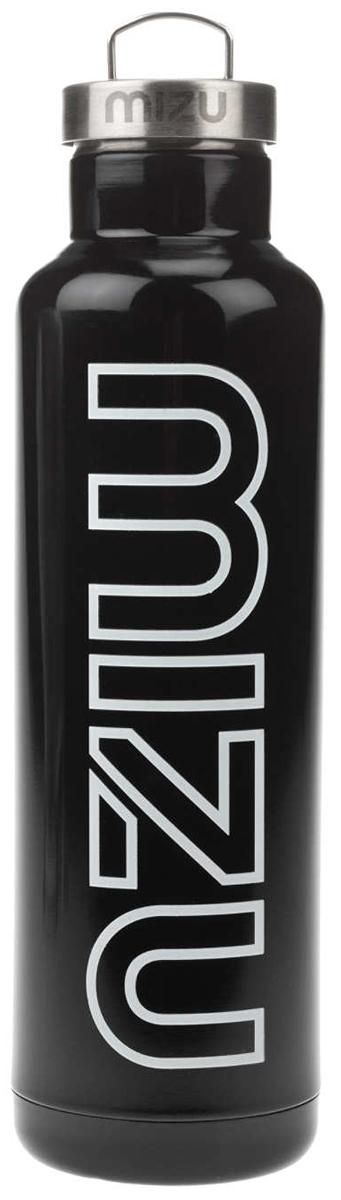 Термобутылка для жидкостей Mizu V8, цвет: глянцевый черный, 800 млZ-V08AMZAБутылка-термос Mizu V8 с крышкой с кольцом, выполненная из пищевой нержавеющей стали, отлично подойдет для тех, кто заботится об окружающей среде и своем здоровье. Ее удобно брать с собой в путешествия, походы и на рыбалку.Бутылка сохраняет горячее до 12 часов и холодное до 18 часов. Не содержит вредного BPA .Объем: 800 мл.Диаметр: 7,5 см. Обхват: 24 см. Высота (с крышкой): 26,5 см.