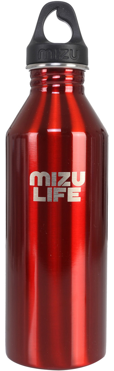 Бутылка для воды Mizu M8, цвет: красный, 800 млZ-M08AMZAБутылка из пищевой нержавеющей стали для тех, кто заботится об окружающей среде и своем здоровье.Сохраняет горячее до 12 часов и холодное до 18 часов.Горлышко имеет специальную форму для аккуратного налива.Объем бутылки: 800 мл.Обхват бутылки: 24 см.Диаметр: 7 см.Высота бутылки (с крышкой): 26 см.