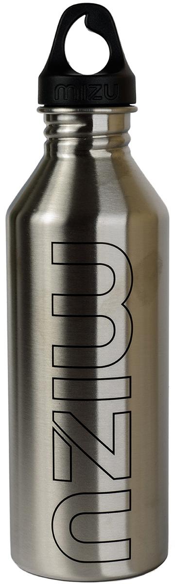 Бутылка для воды Mizu M8, цвет: стальной, 800 мл67742Бутылка из пищевой нержавеющей стали для тех, кто заботится об окружающей среде и своем здоровье. Объем: 800 мл. Обхват: 24 см. Диаметр: 7 см. Высота (с крышкой): 26 см.