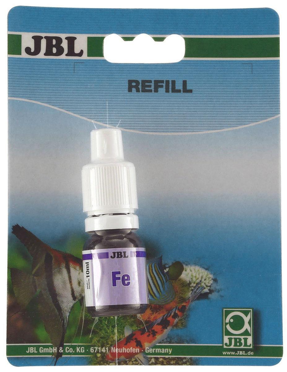 Реагент JBL Eisen Reagens Fe, на содержание железа в пресной и морской воде, для комплекта 2536000, 10 мл0120710Реагент JBL Eisen Reagens Fe представляет собой простой и быстрый тест для определения содержания железа в пресной и морской воде. Рекомендуемое значение железа в морской воде 0,05-0,2 мг/л. Реагент предназначен для комплекта 2536000.Объем: 10 мл.