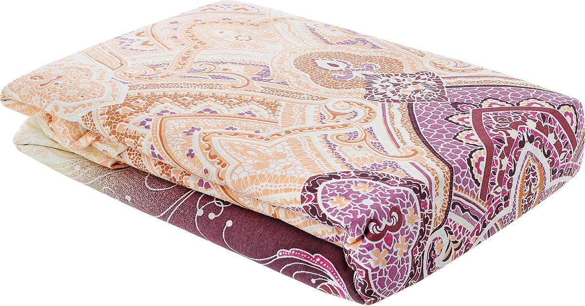 Комплект белья Amore Mio Rassvet, евро, наволочки 70x70, цвет: бежевый, молочный, розовый391602Комплект постельного белья Amore Mio Rassvet является экологически безопасным для всей семьи, так как выполнен из бязи (100% хлопок). Комплект состоит из пододеяльника, простыни и двух наволочек. Постельное белье оформлено оригинальным рисунком.Легкая, плотная, мягкая ткань отлично стирается, гладится, быстро сохнет. Рекомендации по уходу: Химчистка и отбеливание запрещены.Рекомендуется стирка в прохладной воде при температуре не выше 30°.