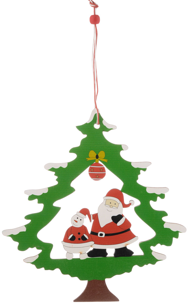 Украшение новогоднее подвесное House & Holder Новогодняя, 18 х 19 см38226Новогоднее подвесное украшение House & Holder Новогодняя выполнено из дерева. Изделие оформлено перфорацией. С помощью специальной петельки украшение можно повесить в любом понравившемся вам месте. Но, конечно, удачнее всего оно будет смотреться на праздничной елке.Елочная игрушка - символ Нового года. Она несет в себе волшебство и красоту праздника. Создайте в своем доме атмосферу веселья и радости, украшая новогоднюю елку нарядными игрушками, которые будут из года в год накапливать теплоту воспоминаний.Размер: 18 х 19 см.