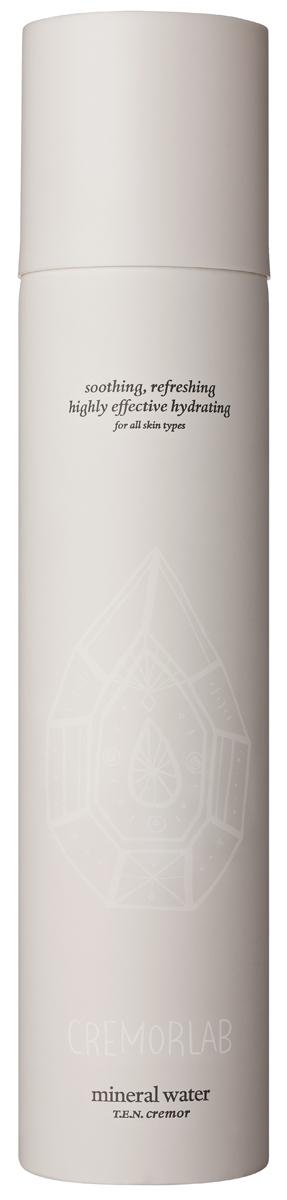 Cremorlab T.E.N. Cremor Mineral Water / Термальная вода, 300 млFS-00897Спрей на основе уникальной термальной воды из источника Гымчин (Корея) эффективно успокаивает, уменьшает покраснения и раздражения, а также глубоко увлажняет кожу. Оказывает выраженное регенерирующее действие, существенно улучшает состояние чувствительной кожи и способствует восстанавлению водного баланса. Вода обогащена экстрактами Алое вера, зеленого чая, плодов шиповника , центеллы азиатской, цветков орхидеи, гаммамелиса и соевых бобов, которые дополняют и усиливают действие средства в области увлажнения, восстановления и питания кожи. Подходит для всех типов и состояний кожи.