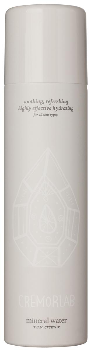 Cremorlab T.E.N. Cremor Mineral Water / Термальная вода, 120 млFS-00897Спрей на основе уникальной термальной воды из источника Гымчин (Корея) эффективно успокаивает, уменьшает покраснения и раздражения, а также глубоко увлажняет кожу. Оказывает выраженное регенерирующее действие, существенно улучшает состояние чувствительной кожи и способствует восстанавлению водного баланса. Вода обогащена экстрактами Алое вера, зеленого чая, плодов шиповника , центеллы азиатской, цветков орхидеи, гаммамелиса и соевых бобов, которые дополняют и усиливают действие средства в области увлажнения, восстановления и питания кожи. Подходит для всех типов и состояний кожи.