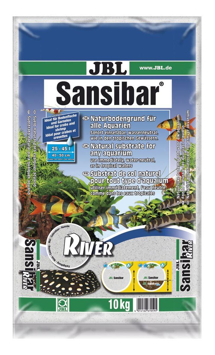 Декоративный грунт для аквариума JBL Sansibar, светлый, мелкий, с черными вкраплениями, 5 кг0120710JBL Sansibar RIVER - Декоративный грунт для аквариума, светлый, мелкий, с черными вкраплениями, 5 кг.