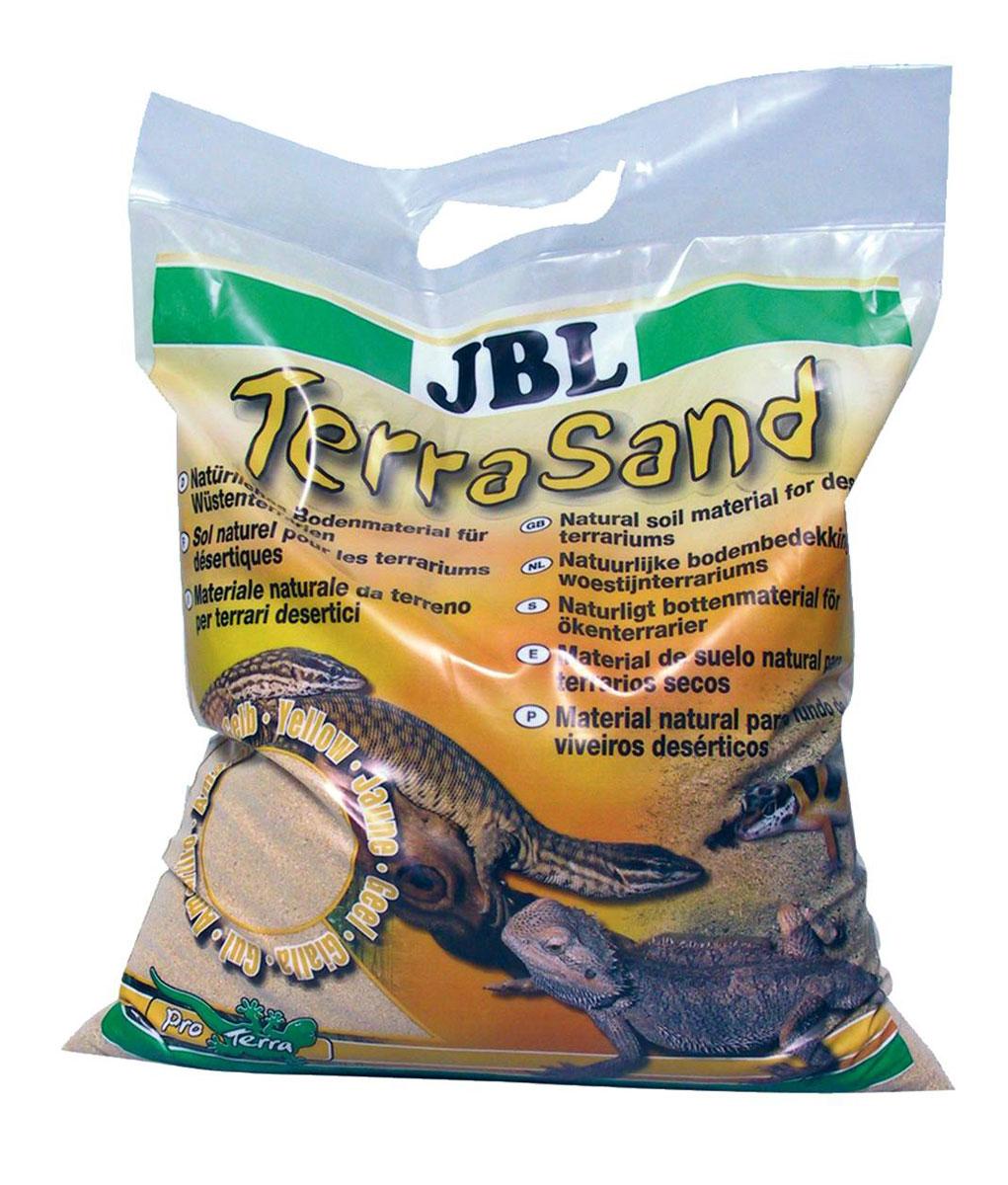 Донный грунт JBL TerraSand, для сухих террариумов, цвет: натуральный желтый, 7,5 кг0120710Донный грунт JBL TerraSand из натурального песка предназначен для сухих песчаных террариумов. Грунт - важная часть террариума, так как многие обитатели копают его и ищут там корм. Песчинки округлой формы предотвращают повреждение кожи рептилий. Чтобы обустроить обитателям террариума дом, как в природе, террариум необходимо оформить согласно биотопу. Для животных решающее значение кроме прочего имеет размер террариума. При установке подбирают правильный субстрат, подходящие растения, обеспечивают вентиляцию, освещение и обогрев террариума. Зерно: 0,7-1,25 мм.