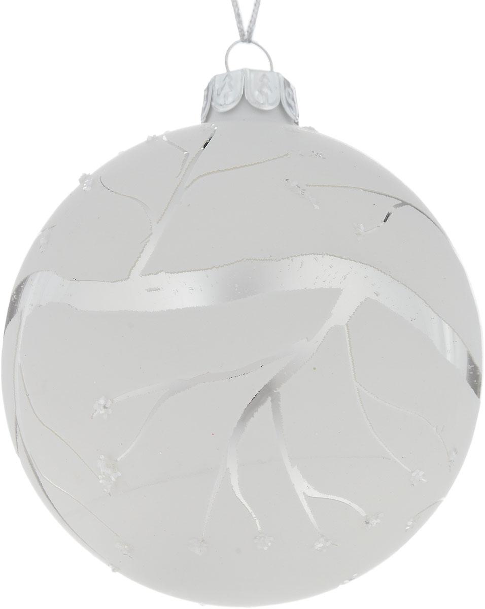 Украшение новогоднее подвесное Winter Wings Зима, диаметр 8 смC0042415Новогоднее подвесное украшение Winter Wings Зима выполнено из стекла. С помощью специальной петельки украшение можно повесить в любом понравившемся вам месте. Но, конечно, удачнее всего оно будет смотреться на праздничной елке.Елочная игрушка - символ Нового года. Она несет в себе волшебство и красоту праздника. Создайте в своем доме атмосферу веселья и радости, украшая новогоднюю елку нарядными игрушками, которые будут из года в год накапливать теплоту воспоминаний.Диаметр: 8 см.