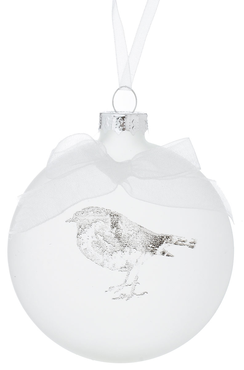 Украшение новогоднее подвесное Winter Wings Птичка, 7 х 2,5 х 7 смN02005Украшение Winter Wings Птичка прекрасно подойдет для праздничного декора новогодней ели. Изделие выполнено из матового стекла с изображением птички и украшено текстильным бантиком. Для удобного размещения на елке предусмотрена петелька.Елочная игрушка - символ Нового года. Она несет в себе волшебство и красоту праздника. Создайте в своем доме атмосферу веселья и радости, украшая новогоднюю елку нарядными игрушками, которые будут из года в год накапливать теплоту воспоминаний.