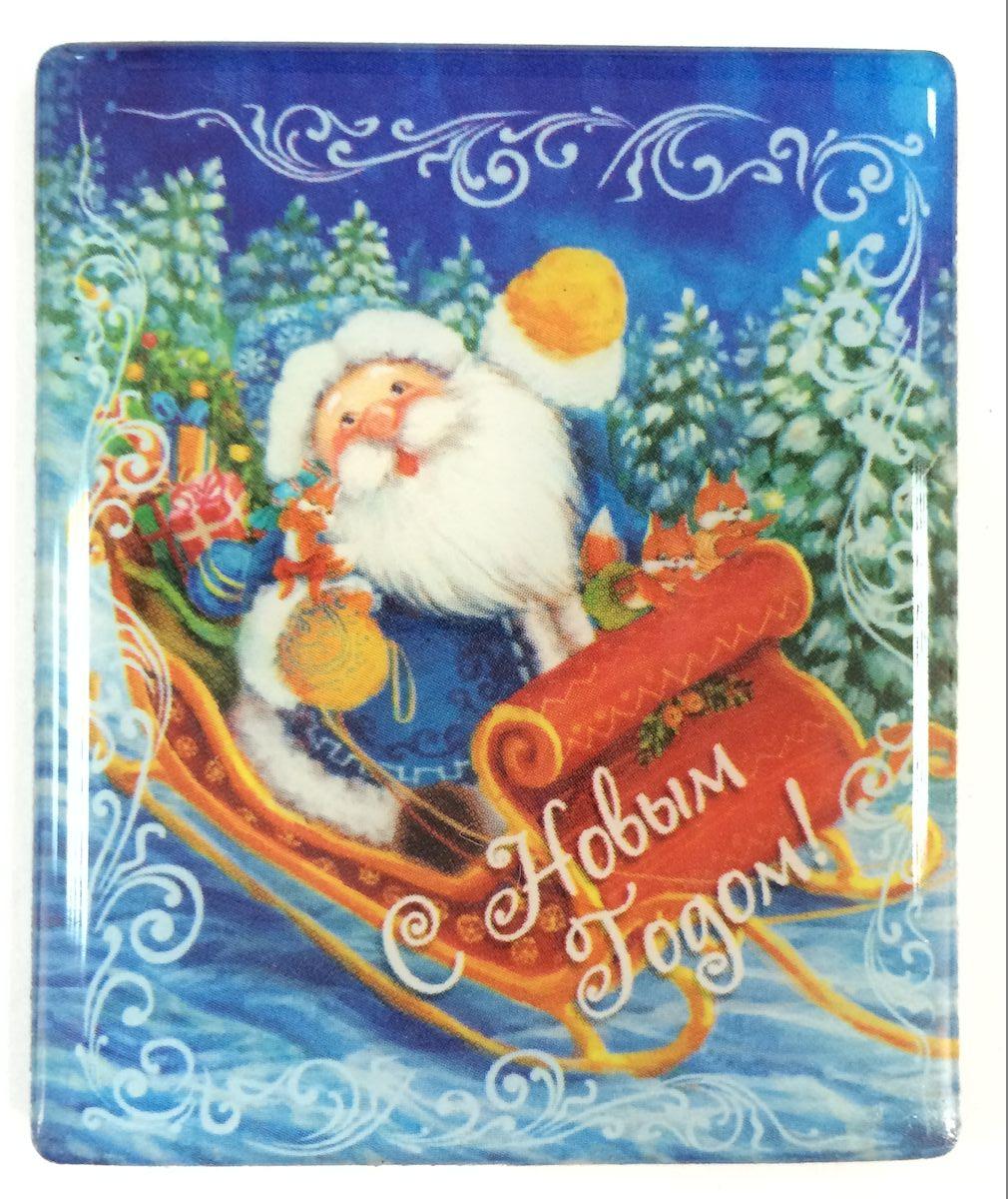 Магнит декоративный Magic Time Дед Мороз в санях, 6 х 5 см. 383751185645Магнит Magic Time Дед Мороз в санях, выполненный из агломерированного феррита, прекрасно подойдет в качестве сувенира к Новому году или станет приятным презентом в обычный день. Магнит - одно из самых простых, недорогих и при этом оригинальных украшений интерьера. Он поможет вам украсить не только холодильник, но и любую другую магнитную поверхность.Материал: агломерированный феррит.