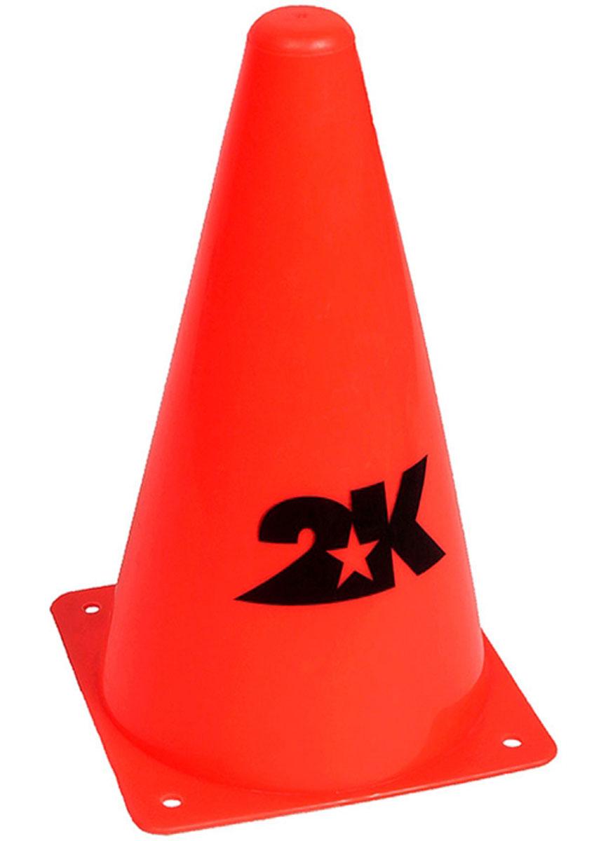 Конус разметочный 2K Sport, цвет: оранжевый, высота 30 см200170Тренировочный конус 2K Sport выполнен из прочного пластика. Он применяется для разметки газона во время тренировок по футболу.Высота конуса: 30 см.