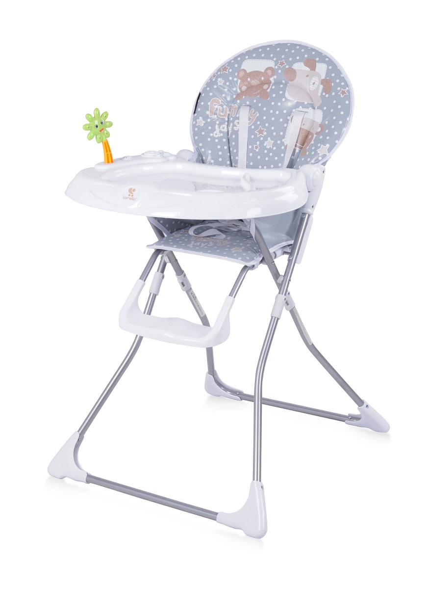 Lorelli Стульчик для кормления Jolly цвет серый, белый -  Все для детского кормления