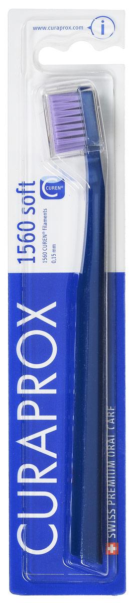 Curaprox CS 1560 Зубная щетка soft, d 0,15 мм цвет: синийCS smart_желтыйCuraprox CS 1560 Зубная щетка soft, d 0,15 мм цвет: синий