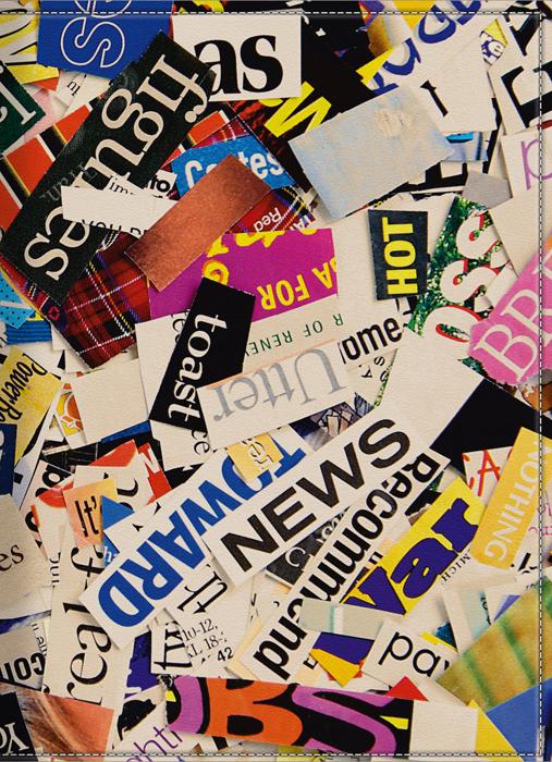 Обложка для паспорта КвикДекор Журнальные вырезки, цвет: мультиколор. DC-15-0049-1 купить корм для собак дешево воронеж