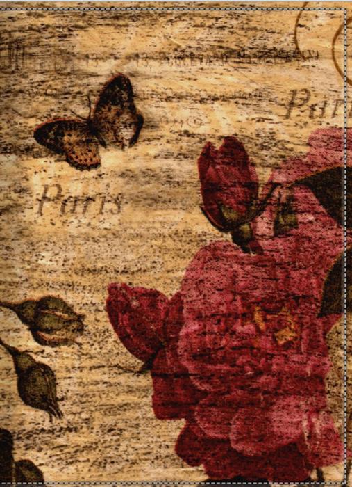 Обложка для паспорта женская КвикДекор Роза шебби-шик, цвет: коричнево-красный. DC-15-0067-1W16-11135_914Оригинальная, яркая и качественная обложка для паспорта КвикДекор Роза шебби-шик изготовлена из качественной экокожи. Подходит для всех видов паспортов, как общегражданских, так и заграничных. Изображение устойчиво к стиранию. Изделие раскладывается пополам.Яркий современный дизайн, который является основной фишкой данной модели, будет радовать глаз.
