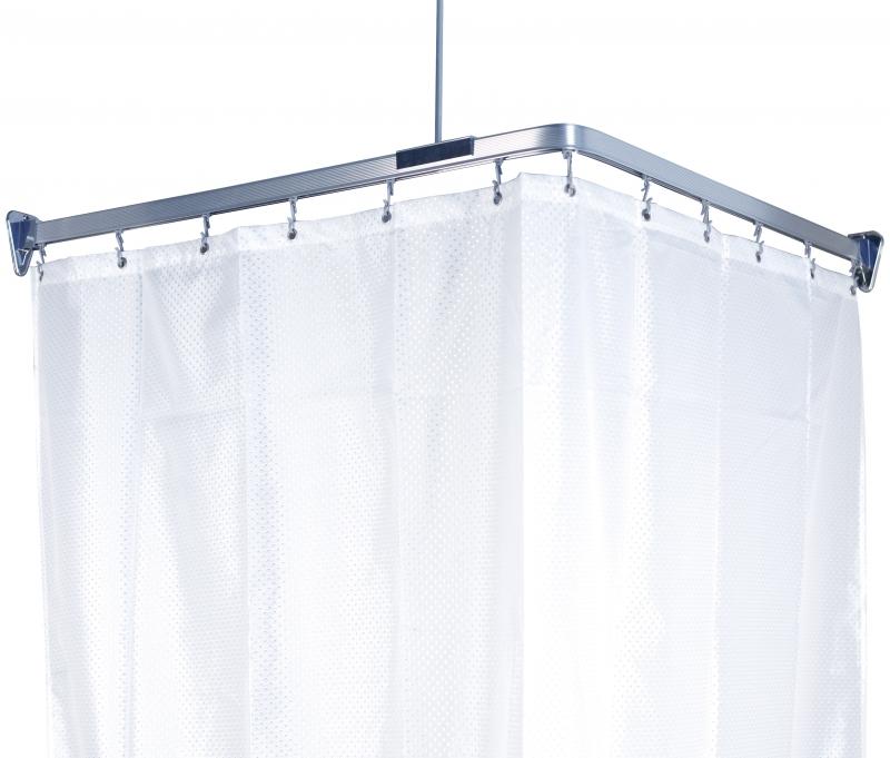 Карниз гибкий для ванной Flex, цвет: хром, длина 300 см391602Карниз Flex выполнен из алюминия и предназначен для крепления душевой шторки в ванной комнате. В комплект входят три блока по 100 см, 12 крючков, две штанги для крепления уголков к потолку и шурупы. Карниз гибкий, ему легко придать любую форму. На задней стороне упаковки нарисована подробная инструкция по сборке карниза.Максимальная длина карниза: 300 см. Характеристики:Материал: алюминий, пластик. Цвет: хром. Максимальная длина карниза: 300 см. Размер упаковки: 17 см х 104 см х 5 см. Производитель: Швеция. Изготовитель: Китай. Артикул: 688-90.