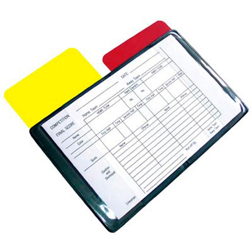 Блокнот судейский 2K Sport, цвет: черный, 16,5 х 11,5 смконусСудейский блокнот 2K Sport на базе планшета предназначен для заполнения послематчевого протокола. Помимо блокнота, в комплект входят желтая и красная дисциплинарные карточки. Размер в разложенном виде: 16,5 х 11,5 см. Размер карточки: 7,5 х 11,5 см.
