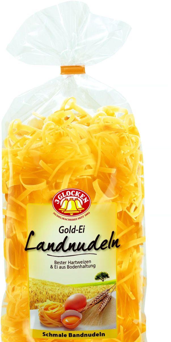 3 Glocken мелкая лапша, 350 г0120710Продукция Три колокольчика - это макаронные изделия высшего качества, произведенные из 100% твердых сортов пшеницы.