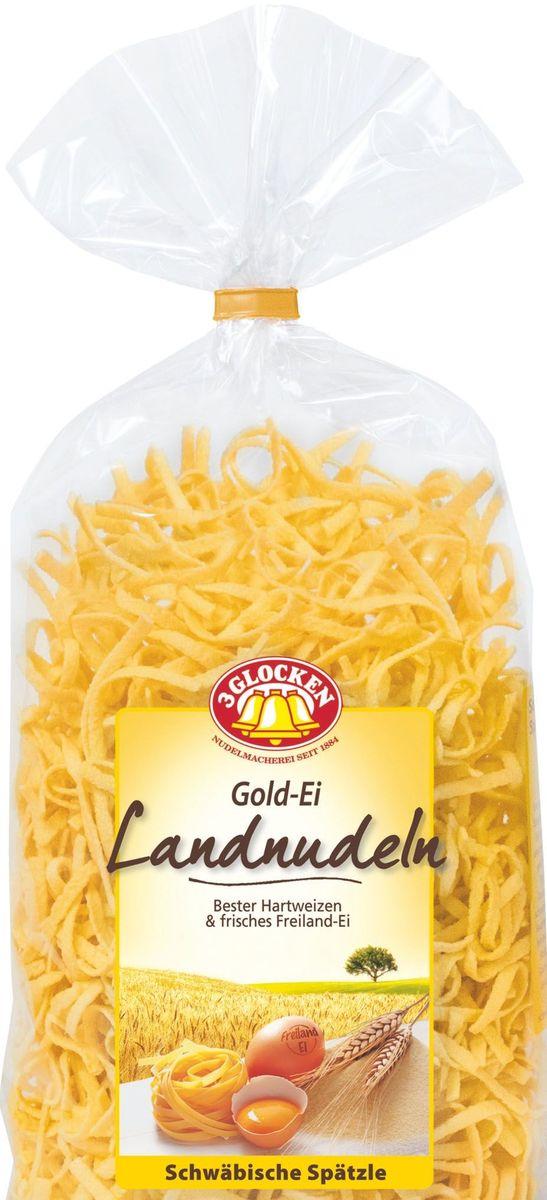 3 Glocken домашняя лапша, 350 г608111Продукция Три колокольчика - это макаронные изделия высшего качества, произведенные из 100% твердых сортов пшеницы.