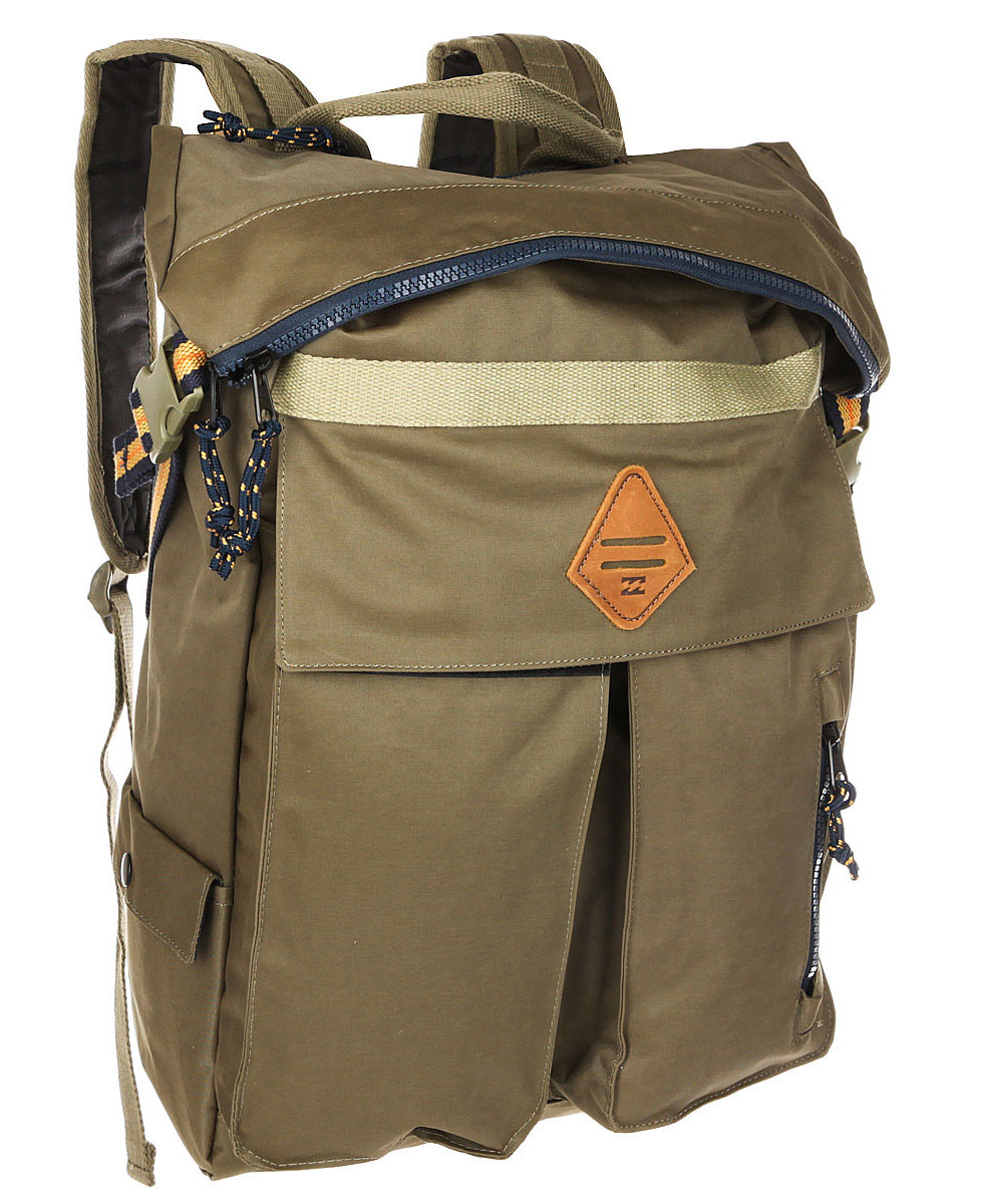 Рюкзак городской мужской Billabong Flux Surfplus, цвет: милитари , 25 л. Z5BP13BM8434-58AEСтильный и функциональный городской рюкзак. Все карманы и отделения расположены таким образом, чтобы Вы легко могли убрать или достать необходимую Вам вещь. С таким рюкзаком точно не пропадешь.