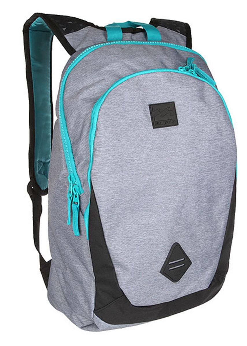Рюкзак городской мужской Billabong Trace Pack, цвет: серый, вереск, 20 л. Z5BP02RivaCase 8460 blackМинималистичный рюкзак с отделением под ноутбук и большим основным отделением.