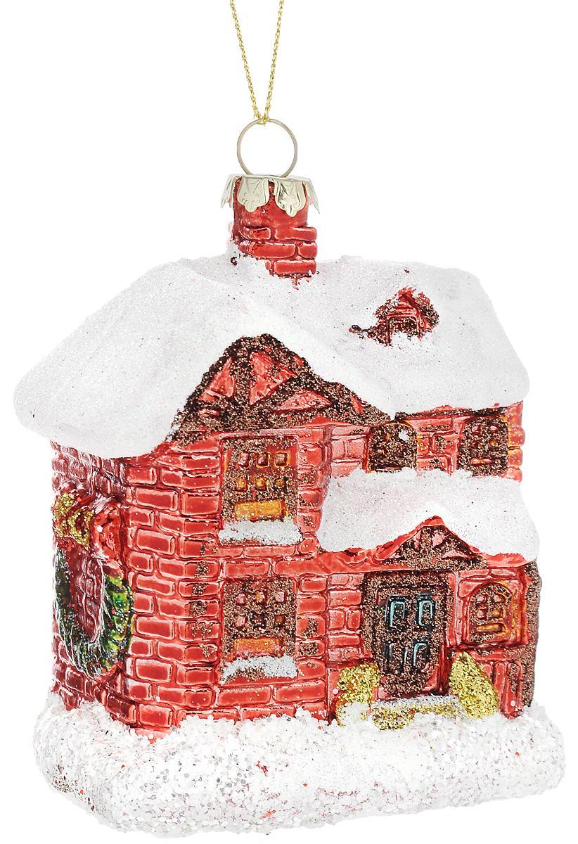 Украшение новогоднее подвесное Winter Wings Домик, высота 10 смN07510Новогоднее подвесное украшение Winter Wings Домик выполнено из пластика и украшено блестками. С помощью специальной петельки украшение можно повесить в любом понравившемся вам месте. Но, конечно, удачнее всего оно будет смотреться на праздничной елке.Елочная игрушка - символ Нового года. Она несет в себе волшебство и красоту праздника. Создайте в своем доме атмосферу веселья и радости, украшая новогоднюю елку нарядными игрушками, которые будут из года в год накапливать теплоту воспоминаний. Откройте для себя удивительный мир сказок и грез. Почувствуйте волшебные минуты ожидания праздника, создайте новогоднее настроение вашим дорогим и близким. Размер украшения: 7 х 5 х 10 см.