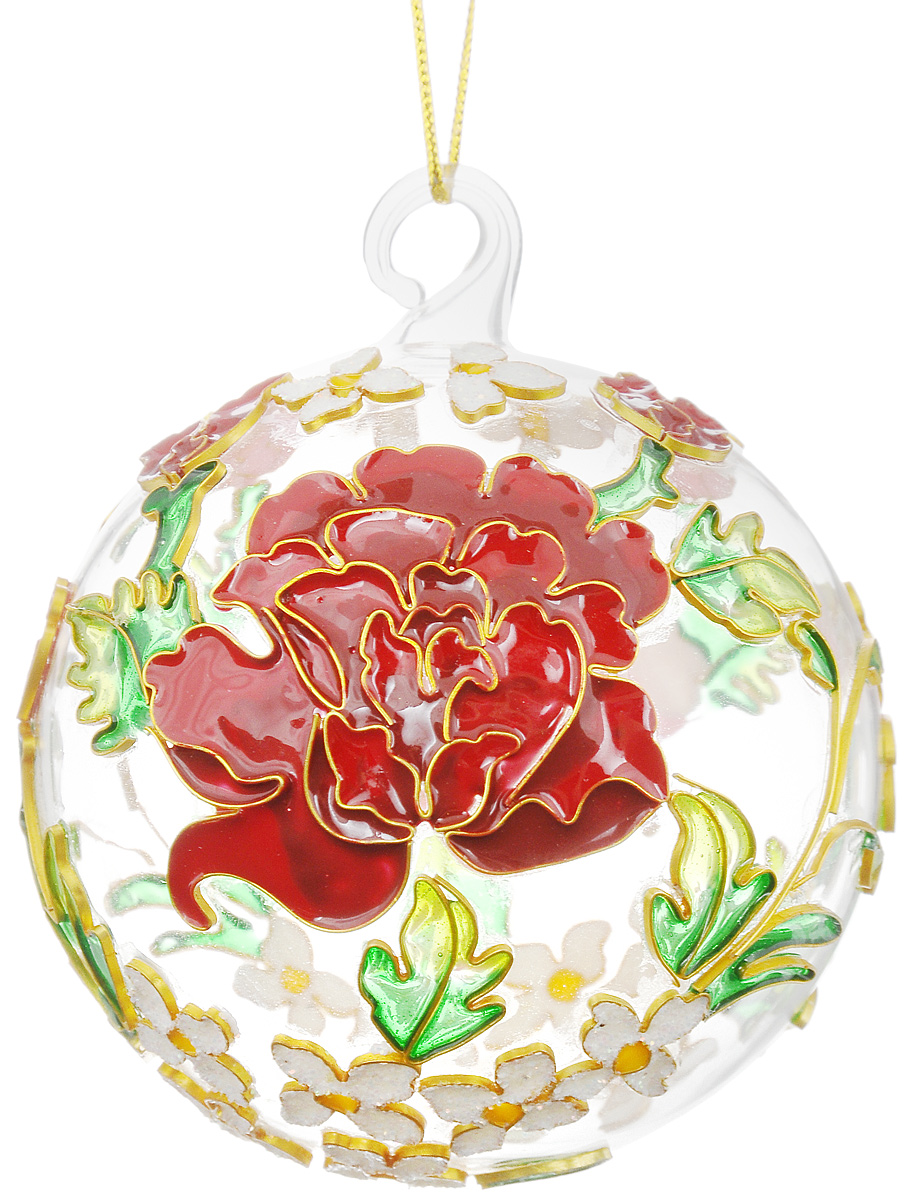 Украшение новогоднее подвесное Winter Wings Цветы, диаметр 7,5 смN07693Новогоднее подвесное украшение Winter Wings Цветы выполнено из стекла и эмали. С помощью специальной петельки украшение можно повесить в любом понравившемся вам месте. Но, конечно, удачнее всего оно будет смотреться на праздничной елке.Елочная игрушка - символ Нового года. Она несет в себе волшебство и красоту праздника. Создайте в своем доме атмосферу веселья и радости, украшая новогоднюю елку нарядными игрушками, которые будут из года в год накапливать теплоту воспоминаний. Откройте для себя удивительный мир сказок и грез. Почувствуйте волшебные минуты ожидания праздника, создайте новогоднее настроение вашим дорогим и близким. Диаметр украшения: 7,5 см.
