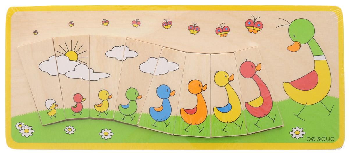 Beleduc Пазл для малышей Утиная семейка