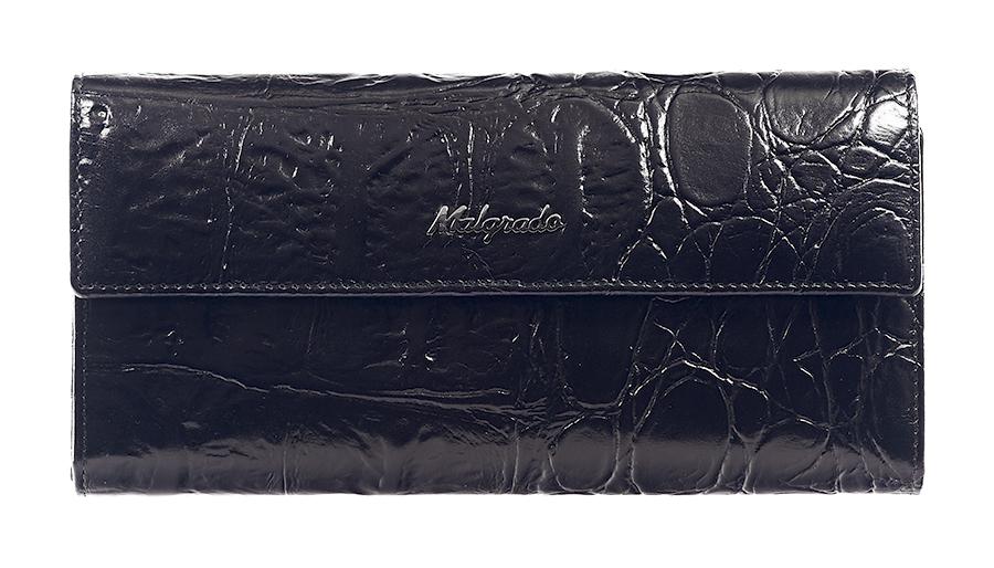 Кошелек женский Malgrado, цвет: черный. 72044-1-29101#1-022_516Стильный кошелек Malgrado изготовлен из натуральной кожи черного цвета с декоративным тиснением под рептилию и вмещает в себя купюры в развернутом виде в полную длину. Внутри содержит пять основных отделений, одно из которых закрывается на кнопку, внутри расположено десять кармашков для карточек, визиток или кредиток и одно с прозрачным окошком, одно горизонтальное отделение и еще одно отделение на защелке для мелочи. С оборотной стороны расположен карман на молнии. Закрывается кошелек клапаном на кнопку.Кошелек упакован в подарочную металлическую коробку с логотипом фирмы. Такой кошелек станет замечательным подарком человеку, ценящему качественные и практичные вещи. Характеристики:Материал: натуральная кожа, текстиль, металл. Размер кошелька: 18,5 см х 9 см х 2,5 см. Цвет: черный. Размер упаковки: 23 см х 12,5 см х 4,5 см. Артикул: 72044-1-29101#.