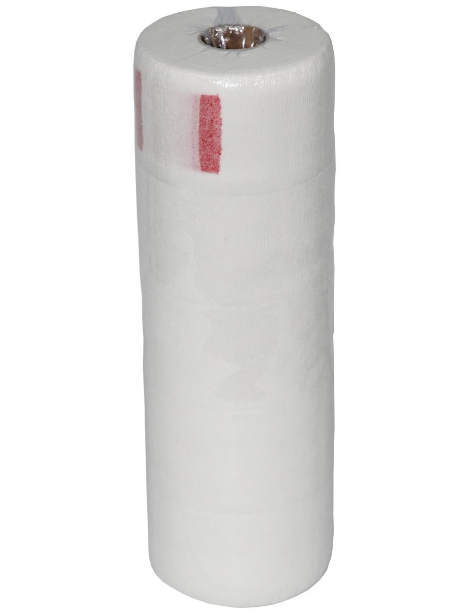 Воротничок на липучке бумажный в рулоне, 5 шт./уп.CDB 452Бумажные перфорированные воротнички одноразового применения для проведения парикмахерских процедур. Надежно крепятся на «липучке» под пеньюаром.Описание:Материал: бумага, с перфорациейТип упаковки: 5 рулонов по 100 мЦвет: белыйШирина: 7 см