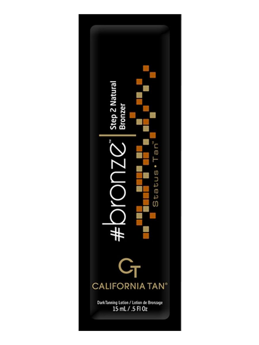 California Tan Крем для загара в солярии Status Tan Bronze Step 2, 15 млCT1150Лосьон для загара в солярии для загорелой кожи Шаг 2. Содержит натуральные бронзаторы. В результате применения придает загару красивый оттенок.Активные компоненты:CuO2: пептиды меди и кислород – эксклюзивный ингредиент California Tan . Оба элемента стимулируют и содействуют выработке фермента тирозиназа, который непосредственным образом влияет на производство меланина для темного загара Вашей кожи.TRF 2010: улучшенная версия известной технологии California Tan способствуют выработке коллагена, оздоровляет кожу и способствует проявлению ровного загара.FlashFirm Blend: комплекс из белой березы и кофеина тонизирует кожу и наполняет ее энергией.Масло Ши: насыщает кожу интенсивным увлажнением для глубокого и длительного загара.Экстракт Алое Вера: кондиционирует, смягчает кожу, снимает воспаления.