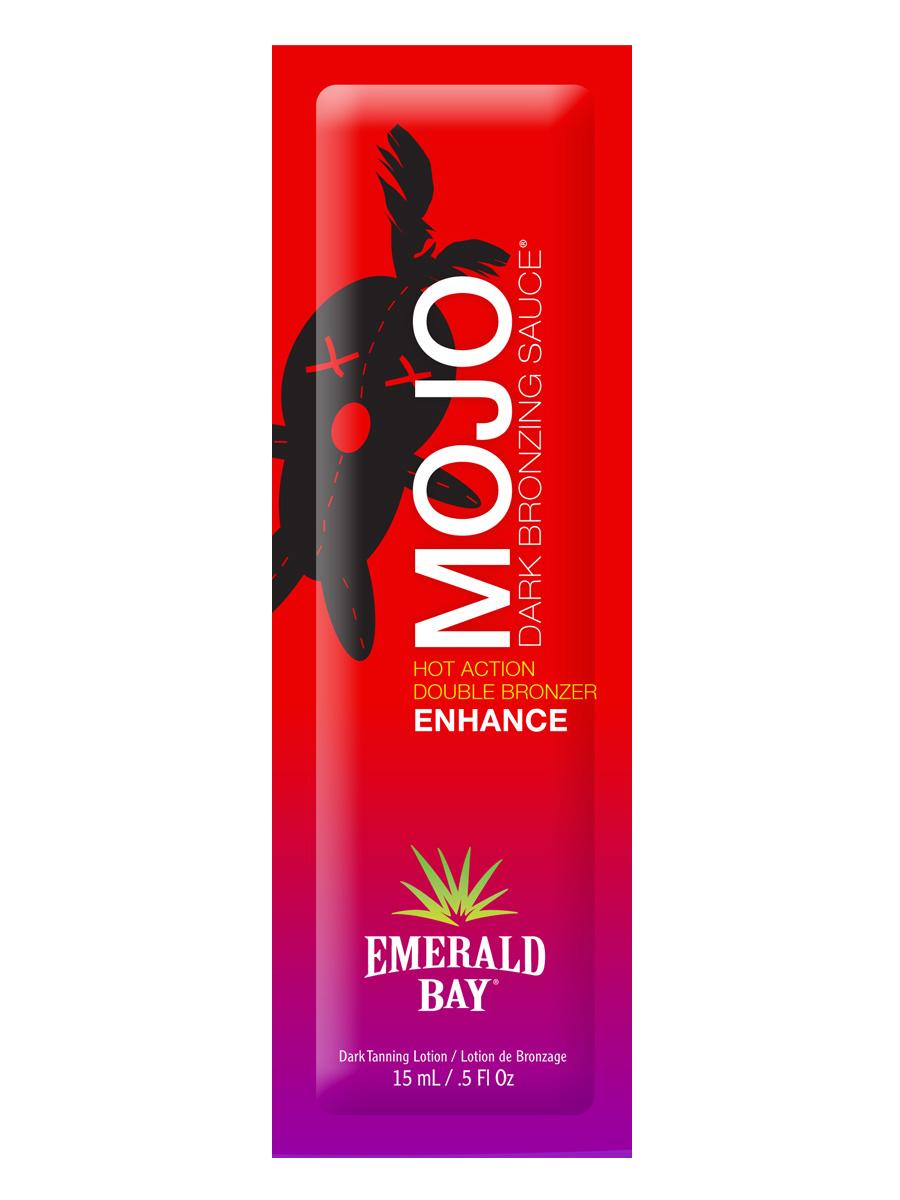 Emerald Bay Крем для загара в солярии Mojo Dark Bronzing Sauce, 15 мл