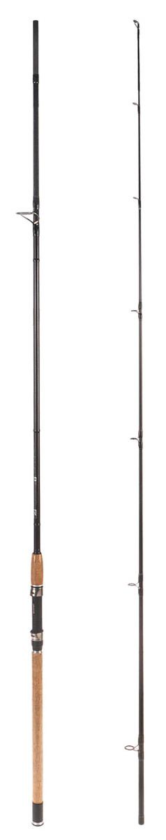 Удилище спиннинговое Daiwa Crossfire, штекерное, 3 м, 20-60 гPGPS7797CIS08GBNVУдилище спиннинговое Daiwa Crossfire убедительно во всех своих характеристиках. Изделие идеально сбалансировано и, благодаря своему жесткому строю, прекрасно подходит для ловли на мягкие приманки. Бланк премиум качества из плетеного графитового волокна демонстрирует великолепное соотношение цены и качества. Удилище оснащено кольцами из оксида титана, пробковой рукояткой, чувствительным бланком из графитового волокна.